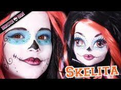face paint monster high on monster high costume makeup tutorial and monster high dolls