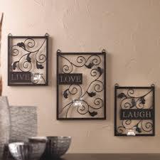 Black Room Decor Metal Wall Art