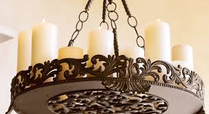 Rustic Candle Chandeliers Chandeliers Design Magnificent Delightful Candle Light