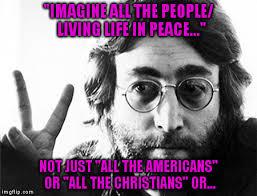 Peace Memes - john lennon peace imgflip