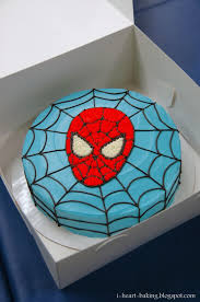 spiderman themed birthday cake spiderman was a printed edible