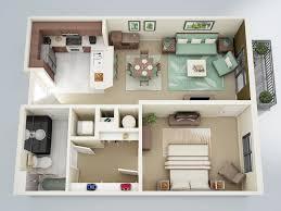 interesting one bedroom apartment interior des 9937
