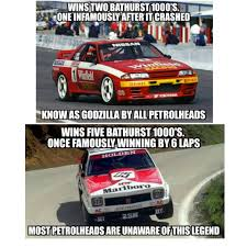 Bathurst Memes - no hate on the gtr i still think it is a fantastic car especially