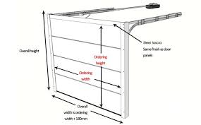 Garage Measurements Garage Door Sizes And Measurements Up And Over Sectional