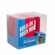Peacock Mug Creative Bpa Free Build On Brick Mug Lego Cup Diy Puzzle Block