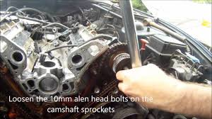 jaguar xk8 xj8 v8 cam chain and cylinder head removal aj26 aj27
