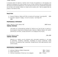 100 sample veterinary resume veterinary manager sample resume
