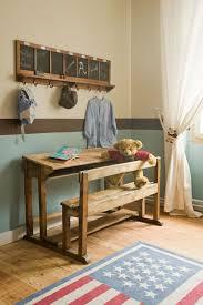 bureau enfant cp pupitre vintage dans une chambre d enfant