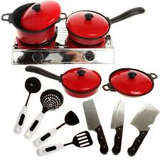 vaisselle cuisine 13 pcs ensemble artificielle vaisselle cuisine jouer à faire