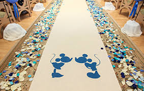 Wedding Aisle Runners Ceremony Decor Custom Aisle Runners Disney Weddings
