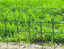 decorative wire border fence for garden and home yard