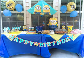 cheap party supplies minions party decorations simple spray paint empty jars ud party