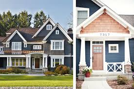 finding the perfect exterior paint color hale navy exterior