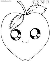 kawaii food coloring pages coloring pages to download and print