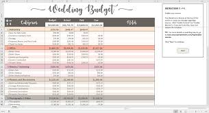 wedding budget template 2017 creative wedding ideas