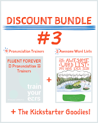 pronunciation discounted bundle 3 4 pronunciation trainers 2 word lists and