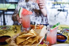 watermelon margarita on the border queso and catching up darling down south