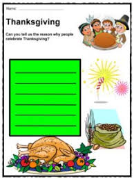 thanksgiving day proclamation facts worksheets history for
