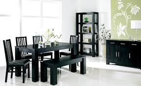 dining room modern black dining room sets modern black and
