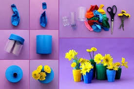 Home Handmade Decoration Amazing Diy Flower Vases To Decorate Your Home