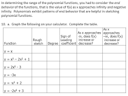 complete the table calculator polynomial patterns learning task ppt video online download