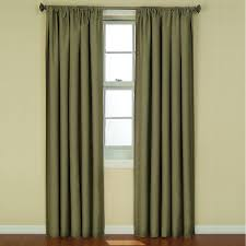 eclipse kendall blackout artichoke curtain panel 84 in length