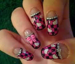 51 best hello kitty nail images on pinterest hello kitty