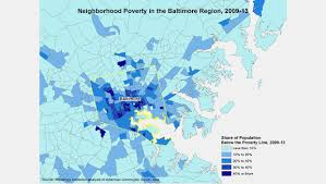Race Map Of America by Beyond Baltimore Thoughts On Place Race And Opportunity
