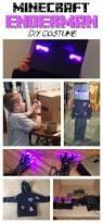 Enderman Halloween Costumes Diy Minecraft Enderman Costume