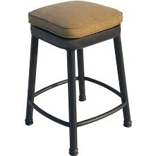 bar height patio set darlee classic cast aluminum square backless patio counter height