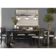 Oak Dining Room Tables Kyoto Dining Table Seared Oak Dining Tables Dining Furniture