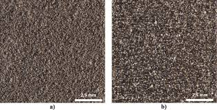characterization of typical surface effects in additive