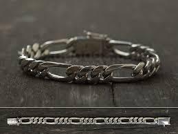 man chain bracelet images Silver chain bracelet for men handmade jewelry length to order jpg