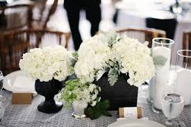 wedding decoration awesome black and white dining table
