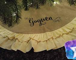 custom tree skirt etsy