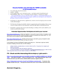 Examples Of Teen Resumes by Magnificent Student Resume Examples No Experience Templates
