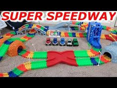 light up car track as seen on tv twister trax 360 15 glow in the dark track w two light up cars