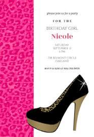 leopard birthday party free printable birthday invitation