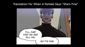 Stalking Meme - killing stalking meme translation for females by apandaheart on