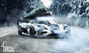 koenigsegg one 1 koenigsegg one 1 gets festive with holiday season carscoops