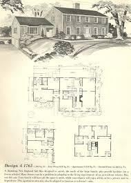 New England Homes Floor Plans 900 Best Historic Floor Plans Images On Pinterest Vintage Houses