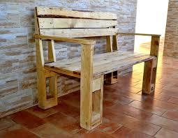 Wooden Pallet Bench Pallet Furniture Design Home Design Ideas