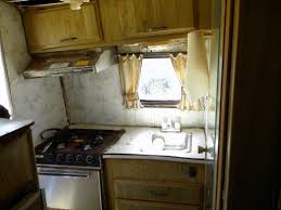 How To Repair Remodel And Restore An Old Camper Or RV Interior - Corner cabinet for rv