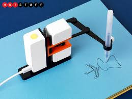 line us is a robot arm that u0027ll doodle just like you stuff