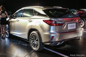 lexus suv malaysia lexus rx launched in m sia 200t 350 450h fr rm389k