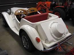 kit cars to build mg td tribute kit car build vw dual power vintage
