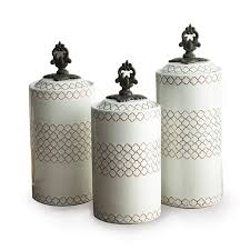 glass canisters with metal lids flour and sugar containers amazon