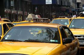 yellow is the best color to paint a taxi if you want to reduce