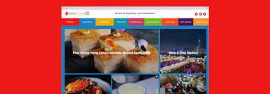 hong kong tourist bureau hong kong tourism board microsite rawww creative agency