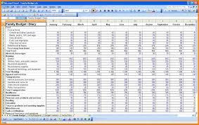 Wedding Budget Spreadsheet 11 Family Budget Spreadsheet Monthly Bills Template